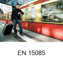 Spawanie pojazdów szynowych ISO 15085