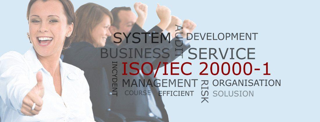 Certyfikat ISO20000-1